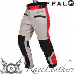 Buffalo Mens Coolflow ST Trousers Stone/Red 2XL