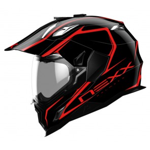 X.D1 VOYAGER BLACK/RED XS