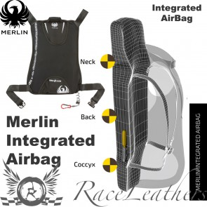 Merlin CE Approved Integrated Airbag Back Protector