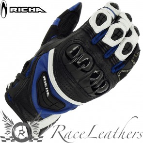 Richa Stealth Black White Blue