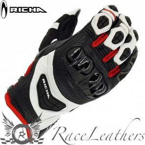 Richa Stealth Black White Red