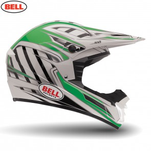 Bell 2014 MX Helmet (Adult) SX-1 Switch Green Size Small