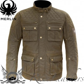 Merlin YOXALL WAX JACKET BROWN S