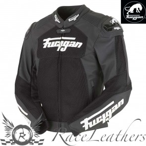 Furygan Speed Mesh White Black