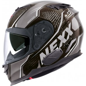 NEXX XT1 Carbon Raptor Black Grey Anthracite Helmet