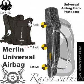 Merlin CE Approved Universal Airbag Back Protector