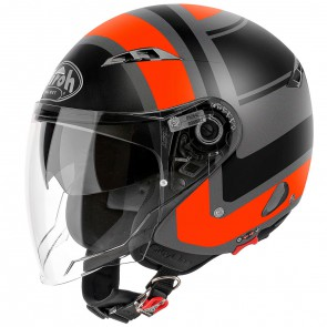 Airoh City One Jet - Wrap Orange Matt