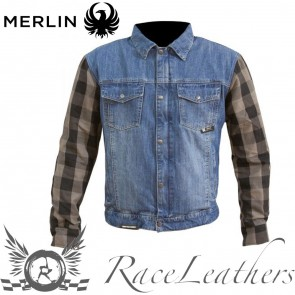 Merlin Haywood Blue Grey Jacket