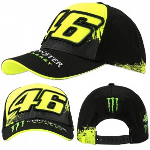 Valentino Rossi VR46 Monster Energy Replica Snap Back Cap