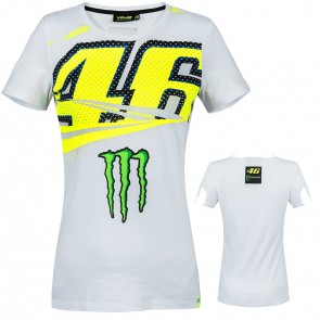 Valentino Rossi VR46 Ladies Monster Energy Monza T-Shirt