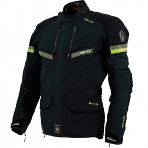 Richa Atlantic Jacket Black Fluo
