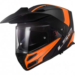 LS2 FF324 Metro Evo Rapid Matt Black Orange