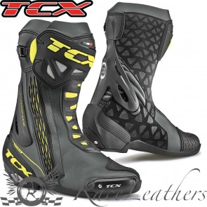TCX RT-Race Black Yellow Fluo