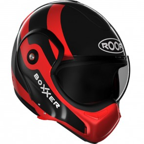 Roof Boxxer 9 Fuzo Black/Red