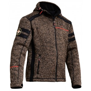 Lindstrands Woolly Hooded Casual Jacket