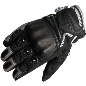 Lindstrands Knock Gloves Black Grey
