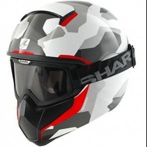 Shark Vancore Wipeout White Red