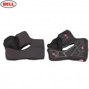 Bell Replacement Star X-Static Cheek Pads