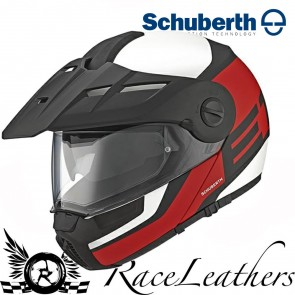 Schuberth E1 Guardian Red