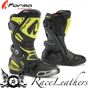 Forma Ice Pro Black Fluo Yellow Boots