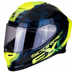 Scorpion Exo R1 Air Ogi Black Yellow