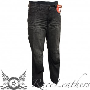 RS DJ1100 Traveller Black Jeans Long