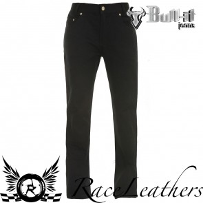 Bull-it SR6 Carbon Black JeansShort