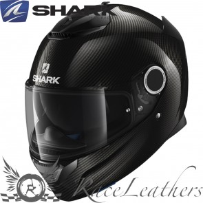 Shark Spartan Carbon Skin Black Anthracite + Free Dark VIsor