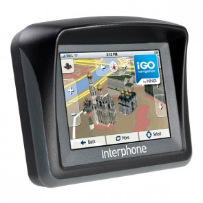 Interphone Waterproof Sat Nav GPS IGO Navigation Full Europe Motorcycle