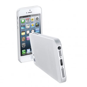 Interphone Ultra Thin Slim Iphone 5 Cover Clear Transparent