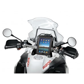 Interphone Motorcycle Ipad Holder Mount For Tubular Handlebars