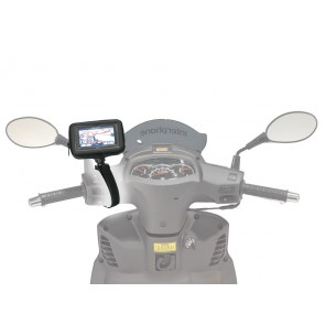 Interphone GPS 4.3Inch Motorcycle Non Tubular Handlebar Mount Holder