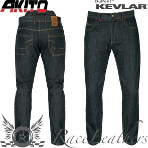 Akito District Fully Lined Jeans Midnight Blue