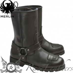 Merlin G24 Charger Heritage Boot Black