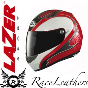 Lazer Kestrel Ivy Red Grey Helmet