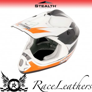 Stealth Helmet HD204 Stealth GP Replica Orange