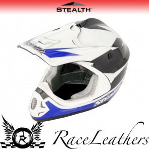Stealth Helmet HD204 MX Stealth GP Replica Blue
