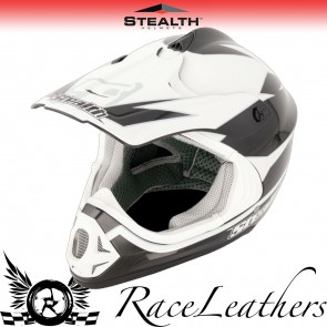 Stealth Helmet HD204 MX Stealth GP Replica Black