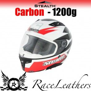 Stealth Helmet HD117 Full Face Carbon Stealth GP Replica Red
