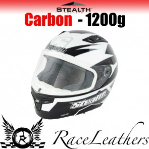 Stealth Helmet HD117 Full Face Carbon Stealth GP Replica Black
