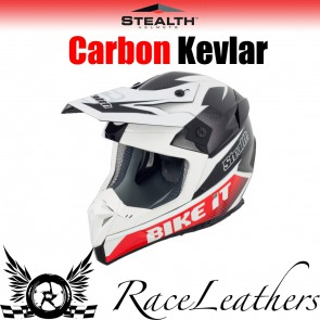 Stealth Helmet HD210 MX Carbon Bike It GP Replica
