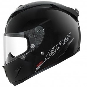 Shark Race R Pro Blank Gloss Black