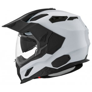 NEXX X.D1 PLAIN REFELX GREY SILVER ADVENTURE ENDURO HELMET