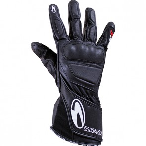 RICHA WS LADIES LEATHER GLOVES BLACK