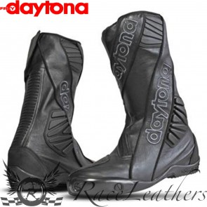 Daytona Security Evo Outer Boots - Black