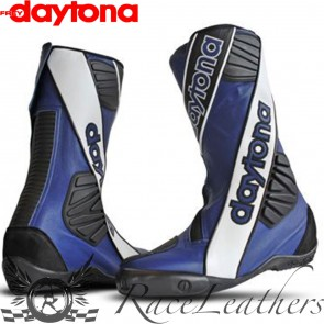 Daytona Security Evo Outer Boots - Black White Blue