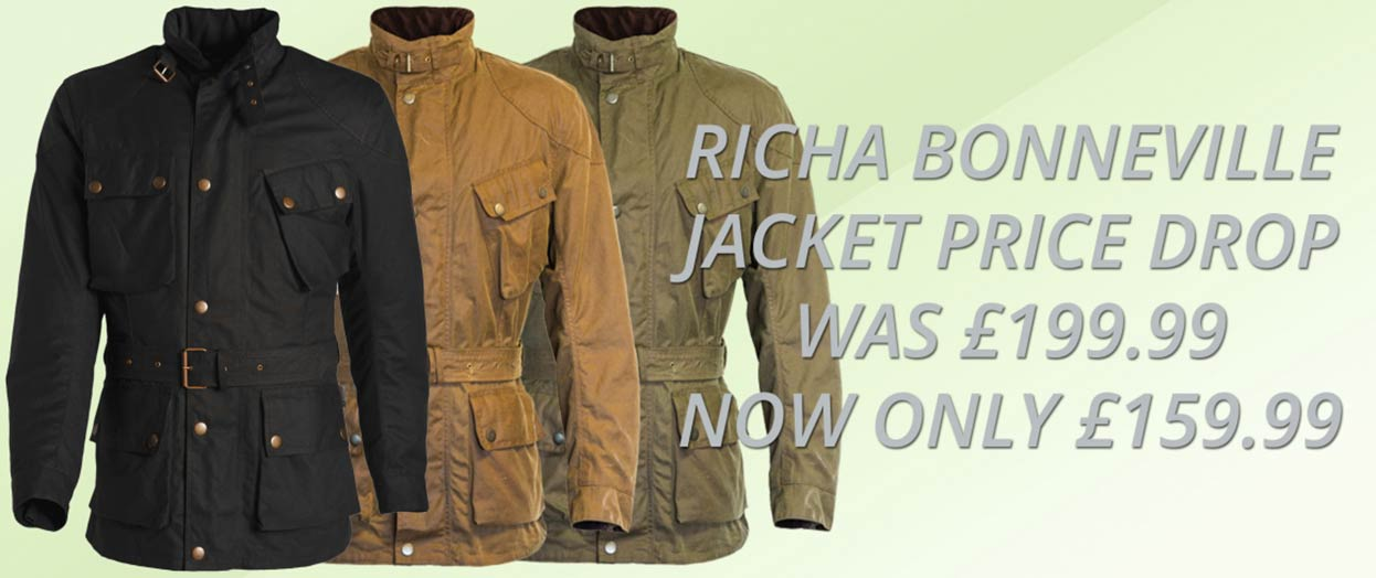 Richa Bonneville Price Drop